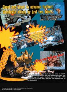 Metal Slug Neo Geo AES Box Back