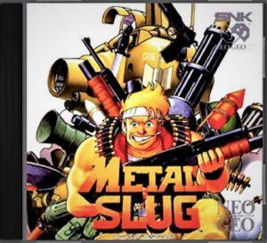 Metal Slug Neo Geo CD Box