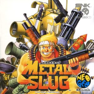Metal Slug Neo Geo CD Japanese Box