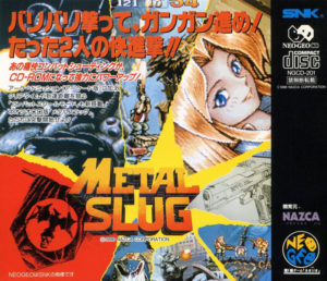 Metal Slug Neo Geo CD Japanese Box Back