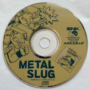 Metal Slug Neo Geo CD Japanese Disc