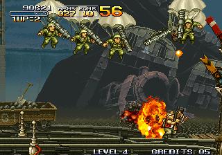 Metal Slug - Paratroopers