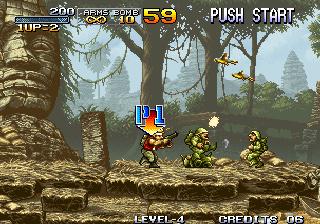 Metal Slug - Start of level