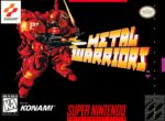 Metal Warriors SNES Box
