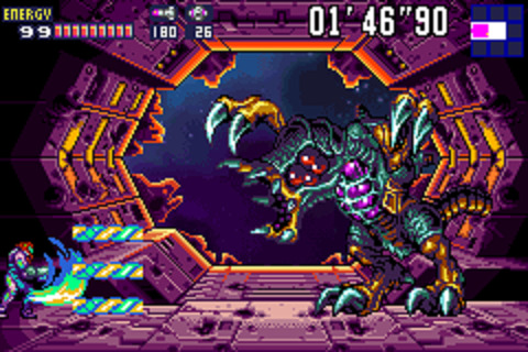 Metroid Fusion - Battle
