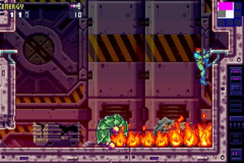 Metroid Fusion - Boss Battle
