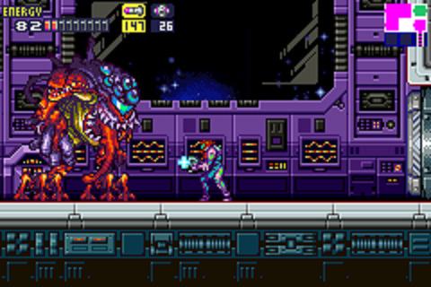 Metroid Fusion - Boss