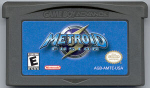 Metroid Fusion Cartridge
