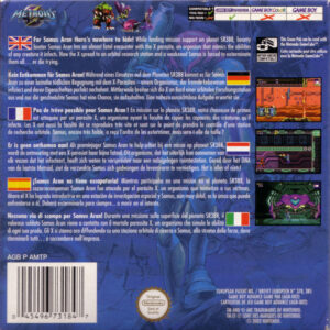 Metroid Fusion European Box Back