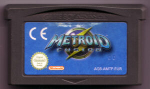 Metroid Fusion European Cartridge