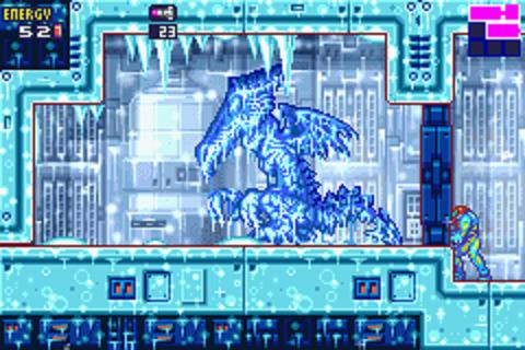 Metroid Fusion - Frozen