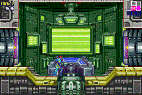 Metroid Fusion - Navigation Room