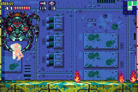 Metroid Fusion - Spider Boss
