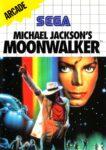 Michael Jackson's Moonwalker Sega Master System Box