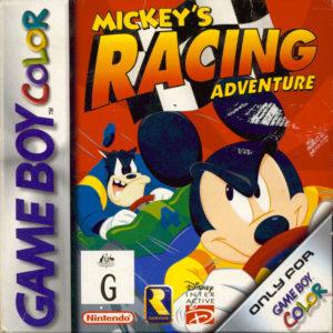 Mickey's Racing Adventure Box