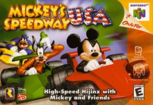 Mickey's Speedway USA Box