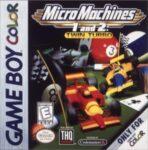 Micro Machines 1 & 2 Twin Turbo GBC Box