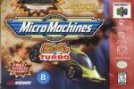 Micro Machines 64 Turbo N64 Box