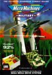 Micro Machines Military Mega Drive Box