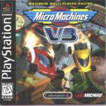 Micro Machines V3 PS Box