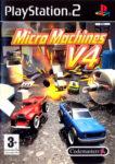 Micro Machines V4 PS2 Box