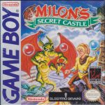 Milon's Secret Castle Game Boy Box