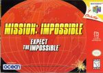 Mission Impossible N64 Box