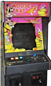 Mouse Trap Arcade Cabinet Front