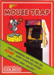 Mouse Trap Atari 2600 Box (Coleco)