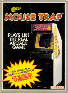 Mouse Trap ColecoVision Box