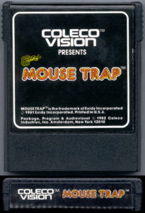 Mouse Trap ColecoVision Cartridge