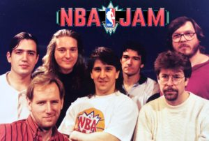 NBA Jam Design Team with Logo