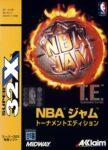 NBA Jam Tournament Edition Japanese 32X Box
