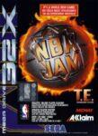 NBA Jam Tournament Edition Mega Drive 32X Box