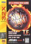 NBA Jam Tournament Edition Sega 32X Box