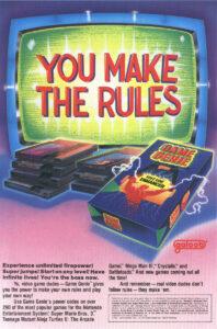 NES Game Genie Ad