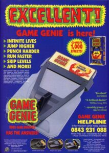 NES Game Genie Advertisement