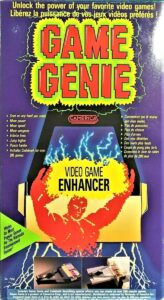 NES Game Genie Camerica Box