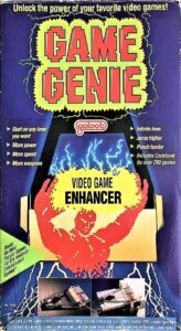 NES Game Genie Galoob Box