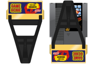 NES Game Genie With Game