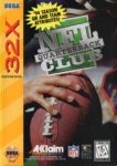 NFL Quarterback Club Sega 32X Box