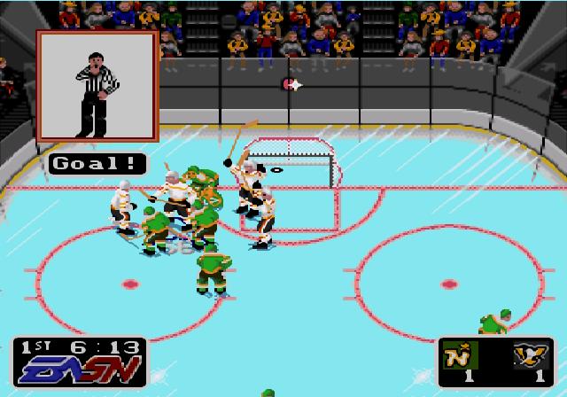 NHL Hockey Goal