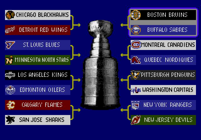 NHL Hockey Playoff Bracket
