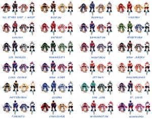 NHPLA Hockey '93 Uniforms