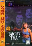Night Trap Sega CD 32X Box