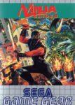 Ninja Gaiden Game Gear European Box