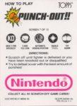 Nintendo Game Pack PO Card 7 Back