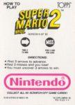 Nintendo Game Pack SMB Card 5 Back
