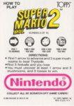 Nintendo Game Pack SMB2 Card 3 Back