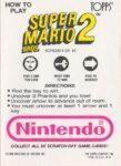 Nintendo Game Pack SMB2 Card 4 Back